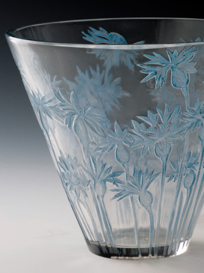 花瓶「矢車菊」