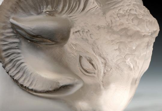 カーマスコット「雄羊の頭」
