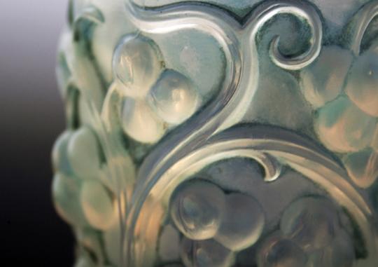 花瓶「ブドウ」