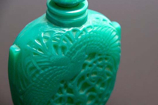 香水瓶「翡翠」