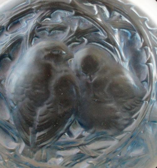 花瓶「2羽のスズメ」