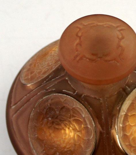 香水瓶「四つのヒマワリ」