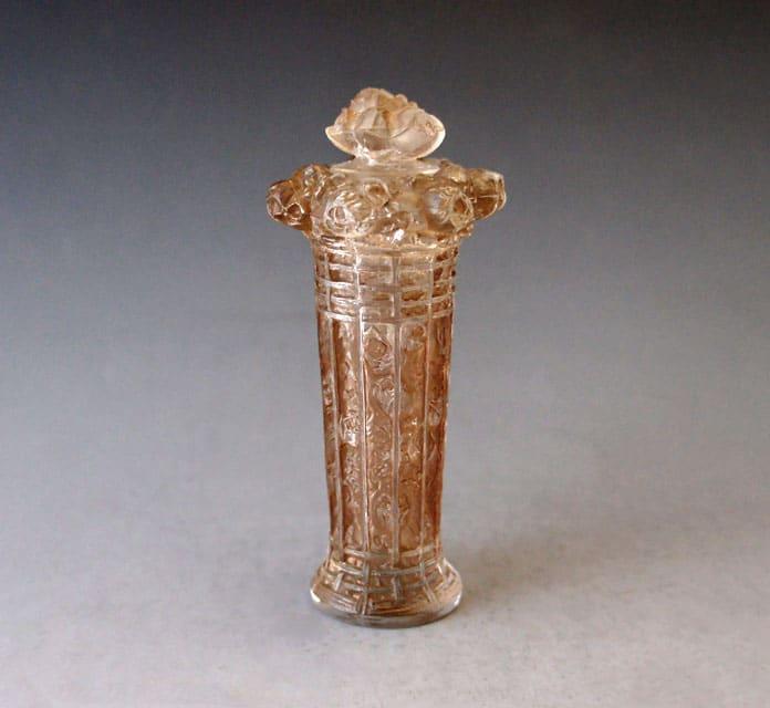 香水瓶「バラ籠」
