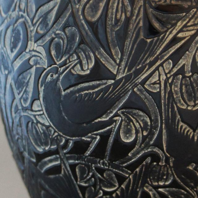 花瓶「カワセミ」