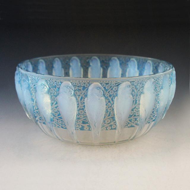 鉢&皿「インコ」
