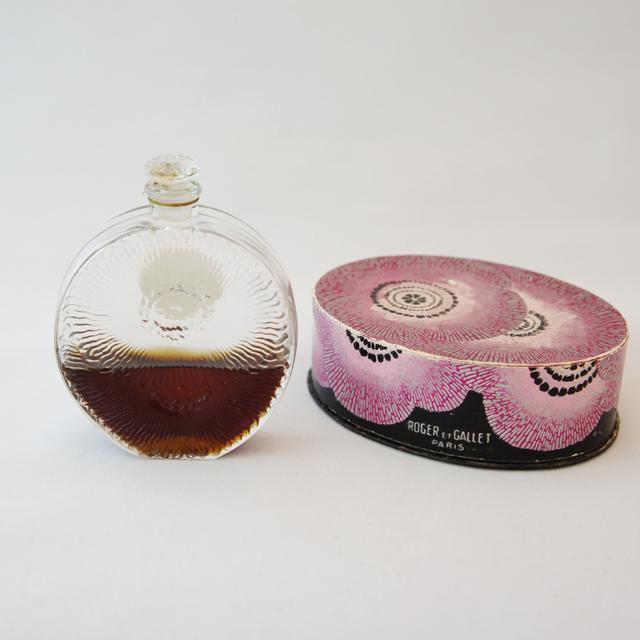 香水瓶「金色のケシ」