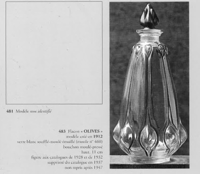 香水瓶「オリーブ」