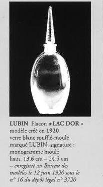 香水瓶「ラック・ドール」
